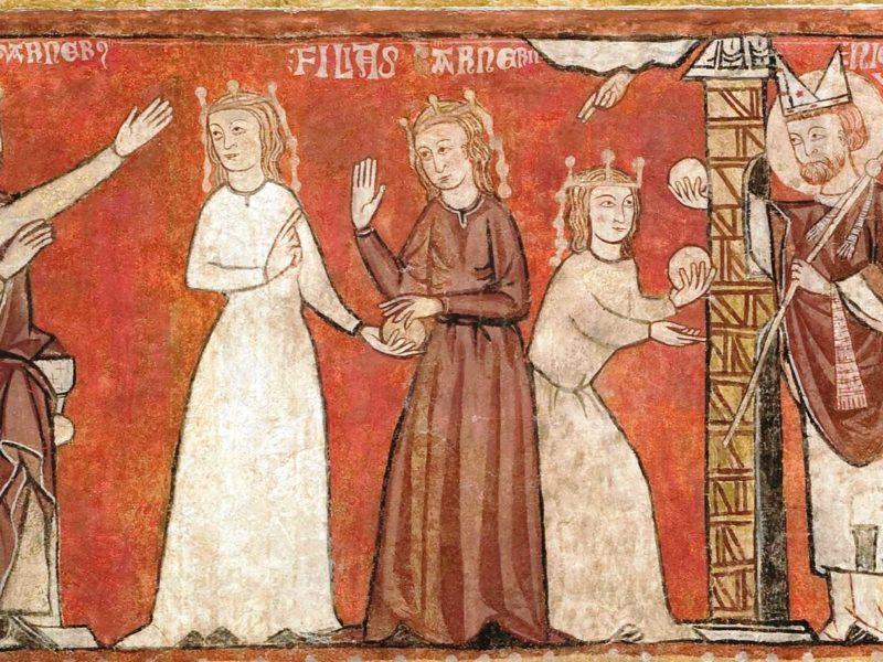 Nicolaas en de drie dochters van de koopman: een legende over de heilige Nicolaas, bisschop van Myra