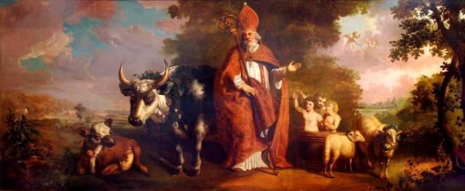 st. Nicolaas en de drie studenten