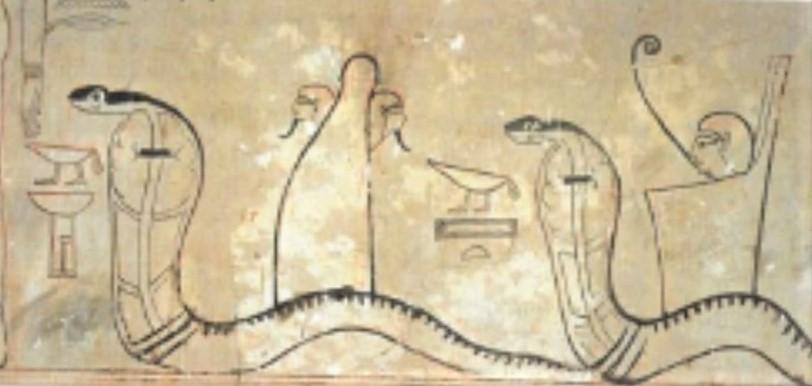 De slang. Deel 4 van dieren als helpers in Egyptische mythologie en Europese sprookjes.