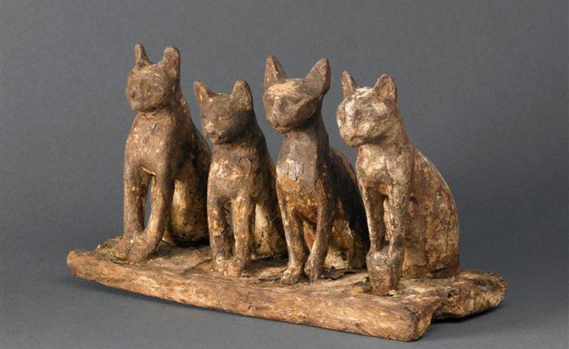 De kat. Deel 7 van dieren als helpers in Egyptische mythologie en Europese sprookjes